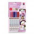 Marabu 德國彩5支裝瓷器繪筆套裝 粉色系列 #012300081