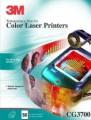 3M彩色激光透明膠片 A4 50's