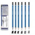 施德樓專業繪圖鉛筆 6支裝 (100 G6)