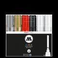 MOLOTOW 水性粉筆馬克筆基本套裝6's-1(4-8mm)