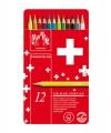 卡達 Swisscolor 水溶木顏色 12色 #1285.712